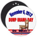 Día de Obama de la descarga Pin