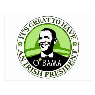 Día de Obama St Patrick Postales