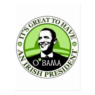 Día de Obama St Patrick Postal