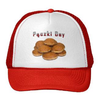 Día de Paczki Gorros Bordados