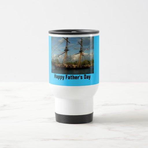 """Día de padre el """"feliz """" del viaje taza"""