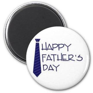 ¡Día de padre feliz! Imán Redondo 5 Cm