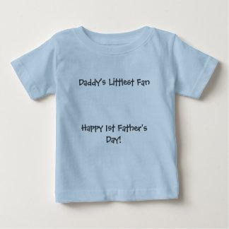 ¡Día de padre más pequeño de FanHappy del papá el Camisetas