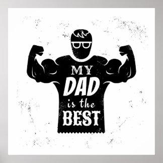 Día de padre póster