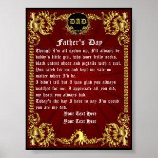 """Día de padres 4"""""""" visión x5.33 sobre diseño póster"""