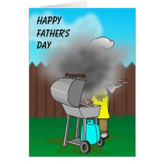 Día de padres - Bbq Tarjeta De Felicitación