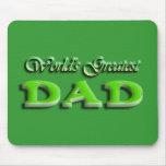 Día de padres del papá alfombrillas de raton