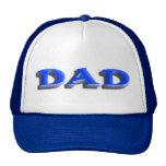 Día de padres del papá gorras