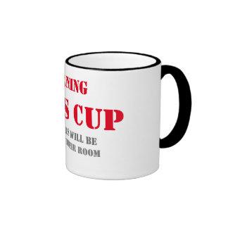 día de padres divertido del diseño de la taza de