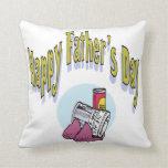 Día de padres feliz almohadas