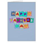 Día de padres feliz felicitaciones