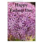 Día de padres feliz tarjeta de felicitación