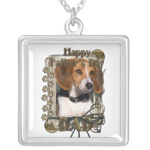Día de padres - patas de piedra - beagle grimpola personalizada