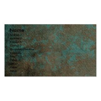 Día de padres - patas de piedra - caniche - albari plantilla de tarjeta de visita