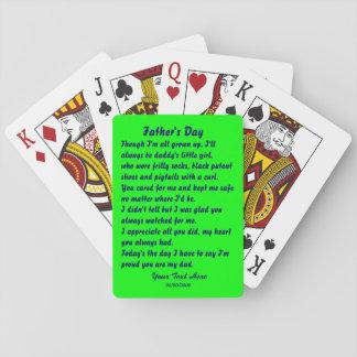 Día de padres por la opinión de Martha Valencia so Cartas De Póquer