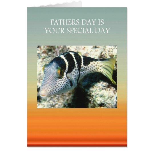 Día de padres tarjeta de felicitación