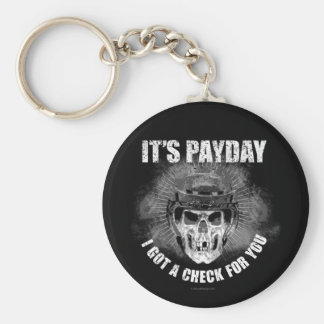 Día de paga #2 del hockey llavero personalizado