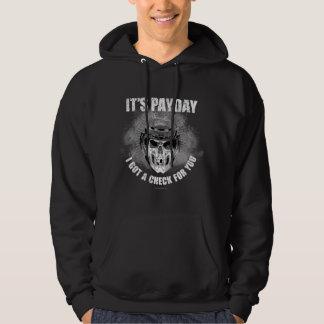 Día de paga #2 del hockey sudadera