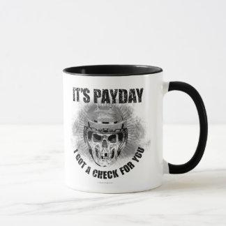 Día de paga #2 del hockey taza