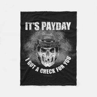 Día de paga del hockey manta polar