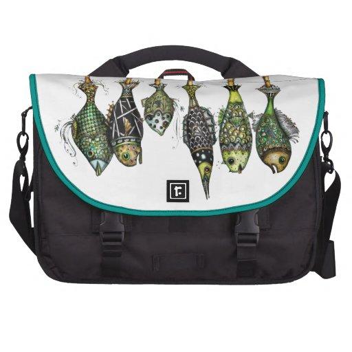 Día de pesca bolsas para ordenador