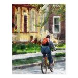 Día de primavera precioso para un paseo tarjetas postales
