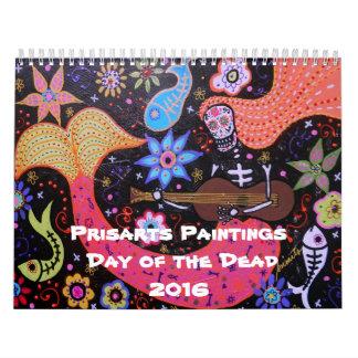 Día de Prisarts de la colección muerta Calendario
