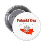 Día de Pulaski Pins