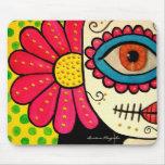 """Día de """"Rosa Mexicano"""" - de los muertos Mousepads"""