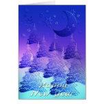 Día de s del Año Nuevo ' Tarjeton