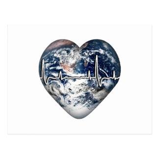 Día de salud de mundo tarjetas postales