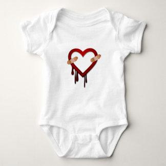 día de San Valentín anti del corazón quebrado Playera