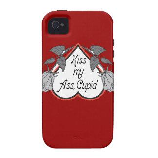 Día de San Valentín anti del Cupid iPhone 4 Fundas
