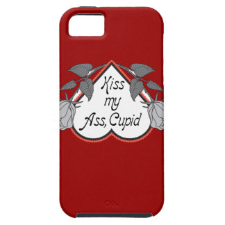 Día de San Valentín anti del Cupid iPhone 5 Protector