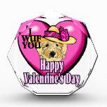 Día de San Valentín de Goldendoodle