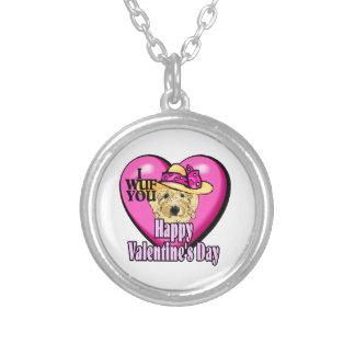 Día de San Valentín de Goldendoodle Joyerias