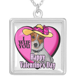 Día de San Valentín de Jack Russell Terrier Grimpolas Personalizadas
