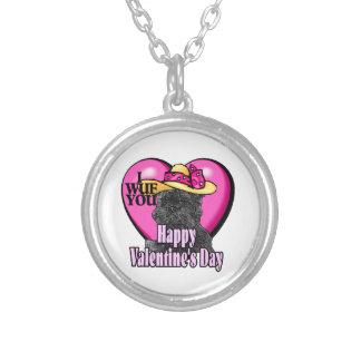 Día de San Valentín del Affenpinscher Grimpola Personalizada