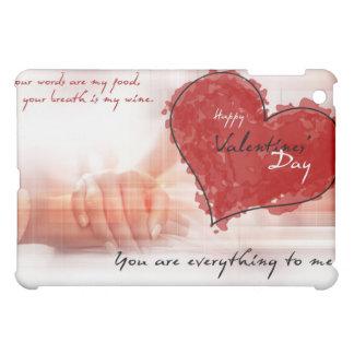 día de San Valentín del caso del ipad