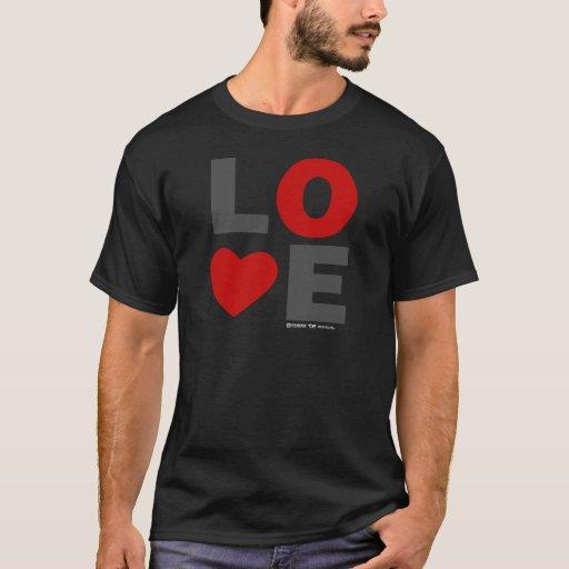Día de San Valentín del corazón del amor Playera