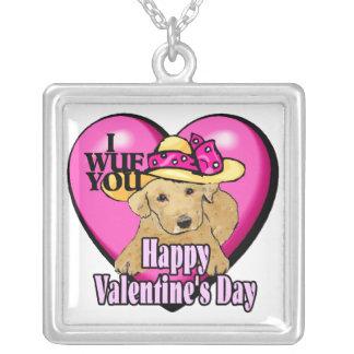 Día de San Valentín del labrador retriever Joyerias Personalizadas