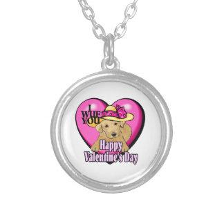 Día de San Valentín del labrador retriever Grimpola Personalizada