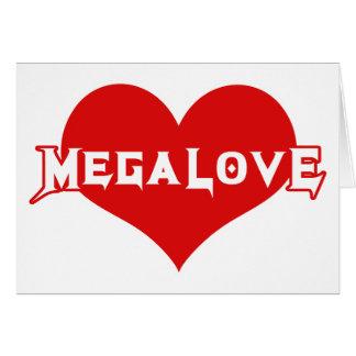 Día de San Valentín del metal de Megalove Tarjeta De Felicitación