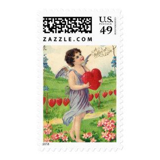 Día de San Valentín del Victorian del vintage, Estampillas