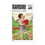 Día de San Valentín del vintage, Cupid del Franqueo