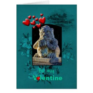 Día de San Valentín, el Grotesque gruñón aboga por Tarjeta De Felicitación