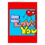 Día de San Valentín Felicitación