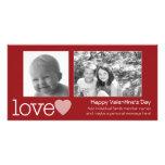 Día de San Valentín feliz - 2 fotos - horizontal