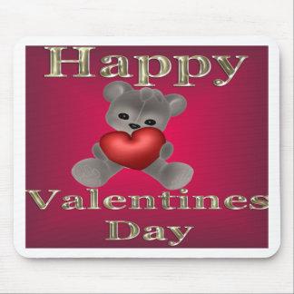 día de San Valentín feliz Alfombrillas De Raton