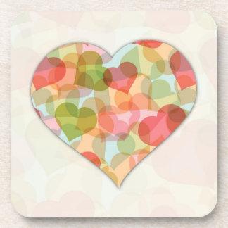 Día de San Valentín feliz con los corazones colori Posavaso